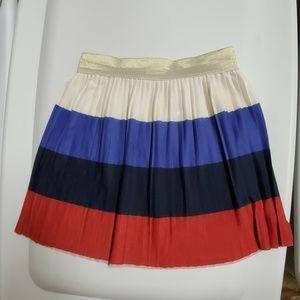 H&M pleated  girls skirt 4-6